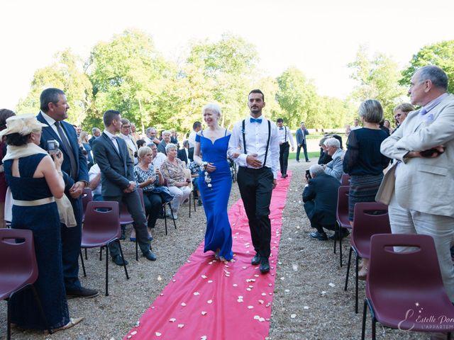Le mariage de Jean-Baptiste et Amandine à La Fermeté, Nièvre 12