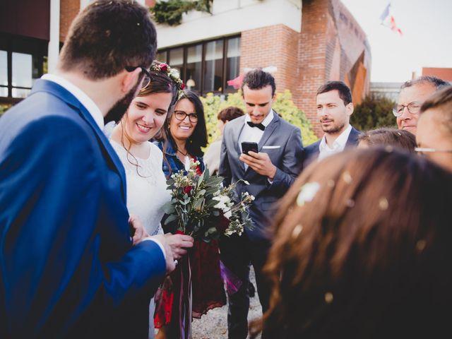 Le mariage de David et Valentine à Les Molières, Essonne 37