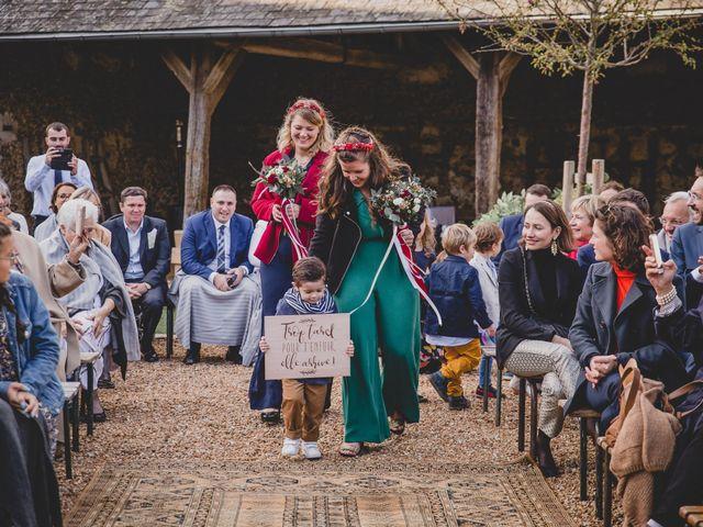 Le mariage de David et Valentine à Les Molières, Essonne 51