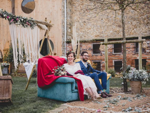Le mariage de David et Valentine à Les Molières, Essonne 54