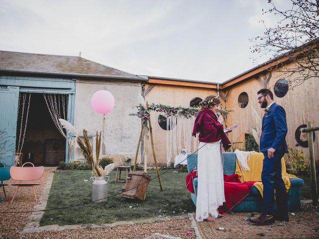 Le mariage de David et Valentine à Les Molières, Essonne 64