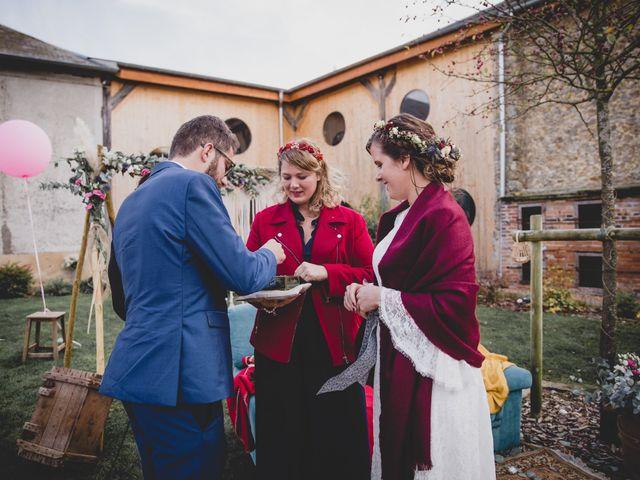 Le mariage de David et Valentine à Les Molières, Essonne 75