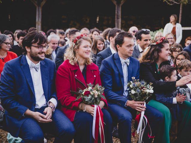 Le mariage de David et Valentine à Les Molières, Essonne 77