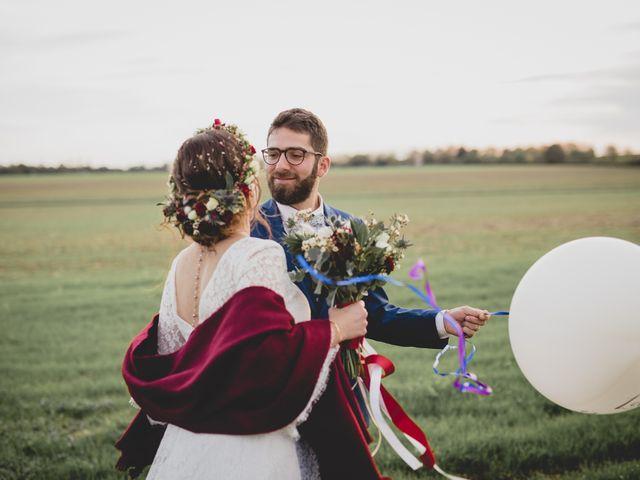 Le mariage de David et Valentine à Les Molières, Essonne 84