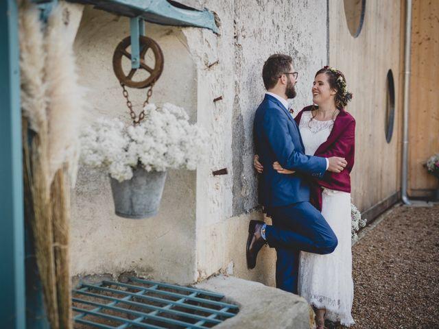 Le mariage de David et Valentine à Les Molières, Essonne 91