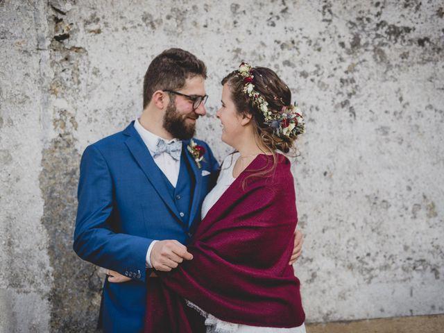 Le mariage de David et Valentine à Les Molières, Essonne 94
