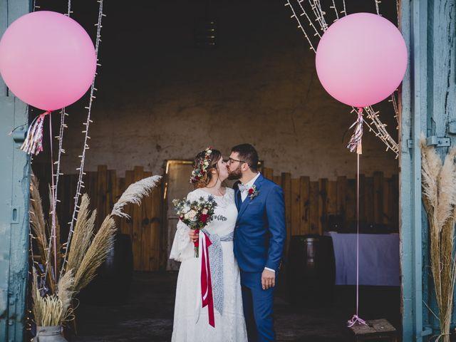 Le mariage de David et Valentine à Les Molières, Essonne 95