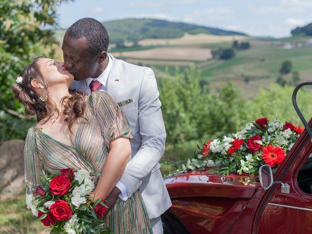 Le mariage de Alex et Elodie à Coise, Rhône 18