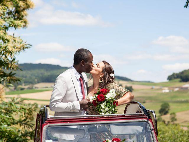 Le mariage de Alex et Elodie à Coise, Rhône 20
