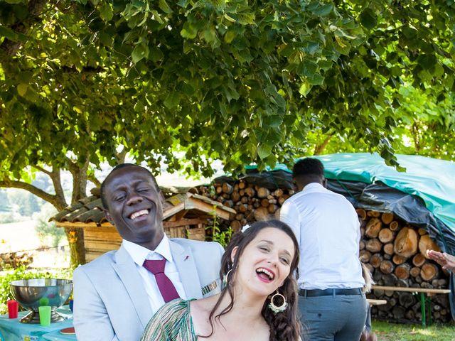 Le mariage de Alex et Elodie à Coise, Rhône 43