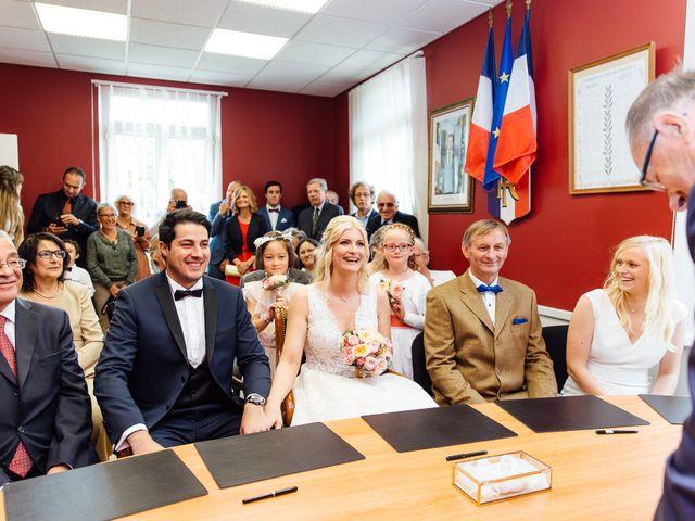 Le mariage de Hamza et Cecile à Challes-les-Eaux, Savoie 12