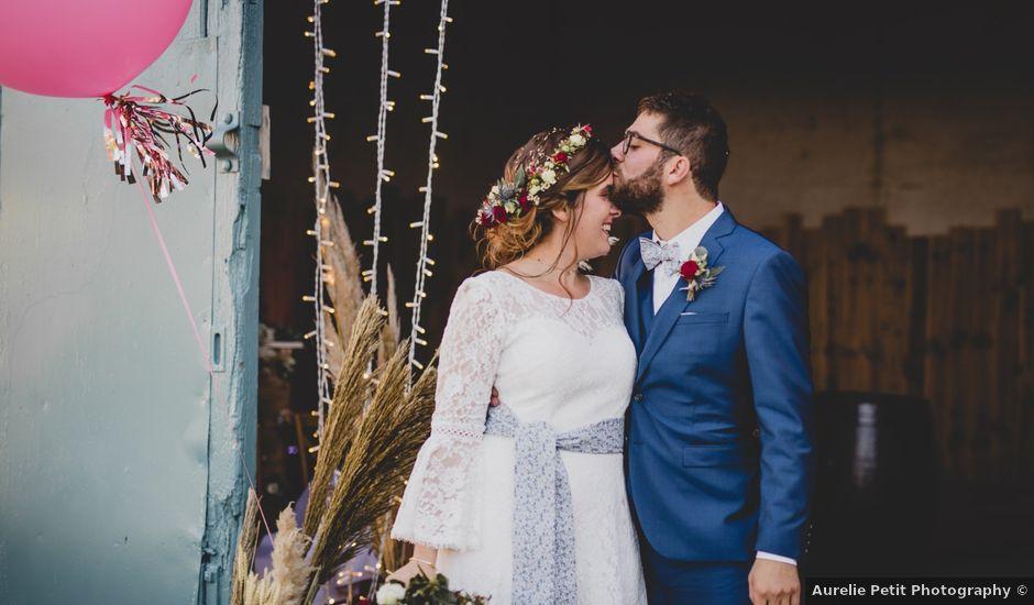 Le mariage de David et Valentine à Les Molières, Essonne