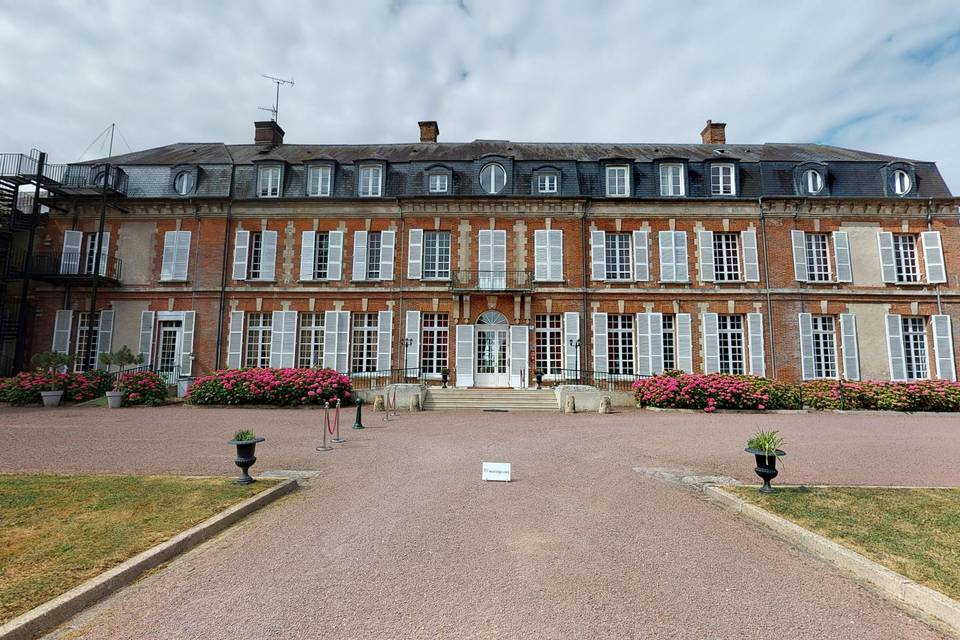 Château de la Houssoye 3d tour