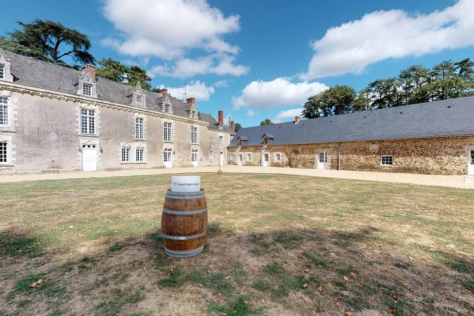 Château de la Cartrie 3d tour