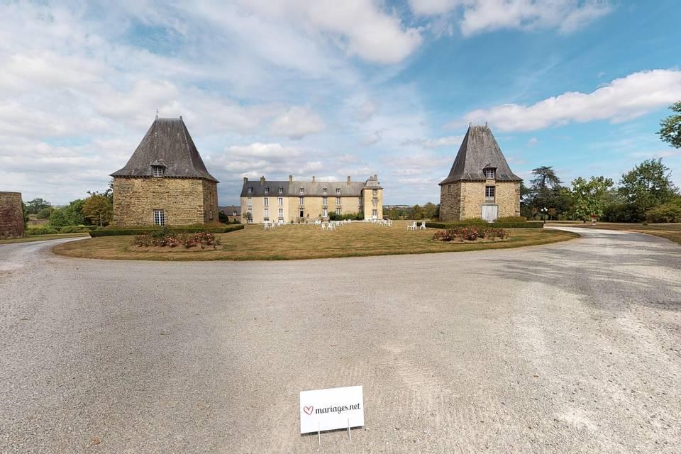 Château de la Robinais 3d tour
