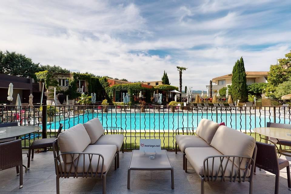 Sevan Parc Hotel Restaurant l'Olivier 3d tour