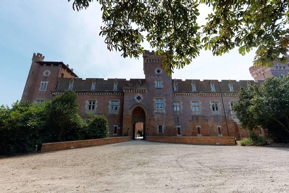Château de Terrides 3d tour