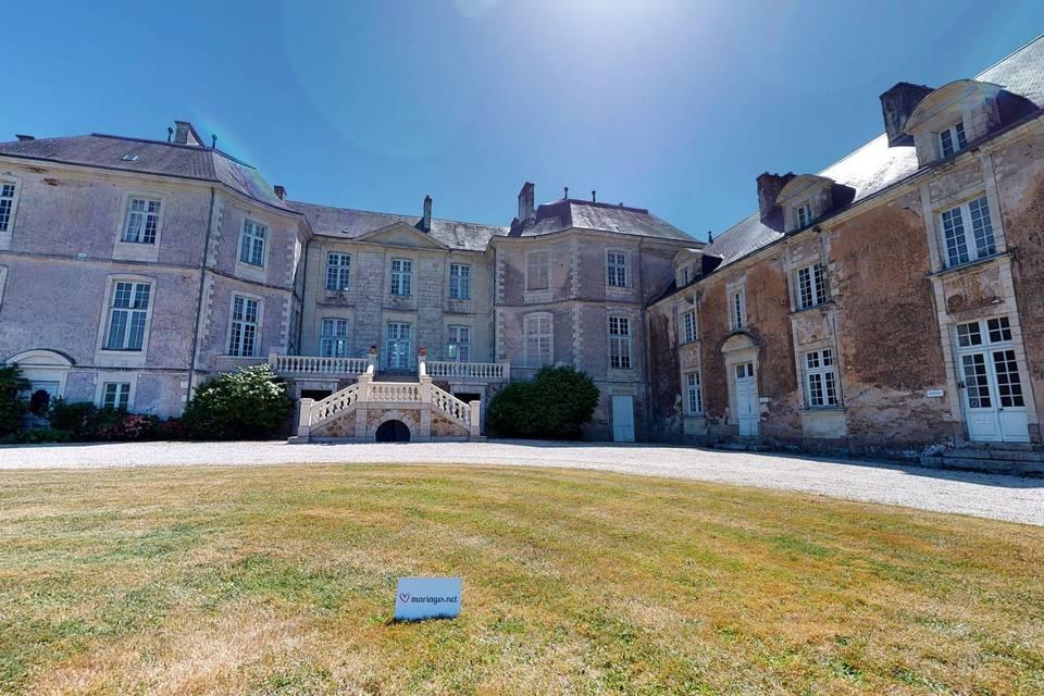 Château de la Rousselière 3d tour