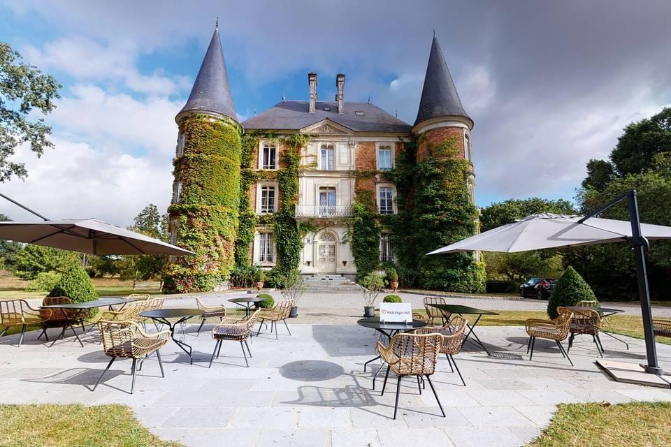 Château d'Apigné 3d tour