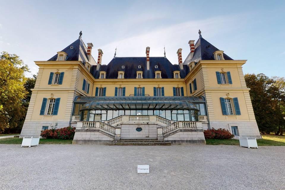 Château de Rajat 3d tour
