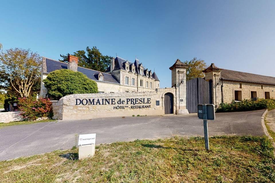 Domaine de Presle 3d tour
