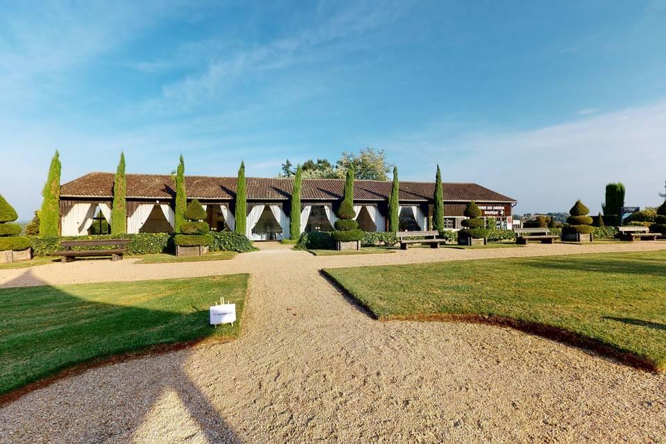 Les Jardins du Manoir d'Eyrignac 3d tour
