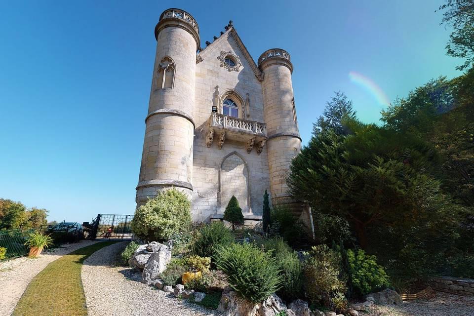 Le Château de la Reine Blanche 3d tour