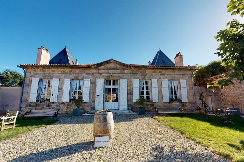 Château la Hitte 3d tour