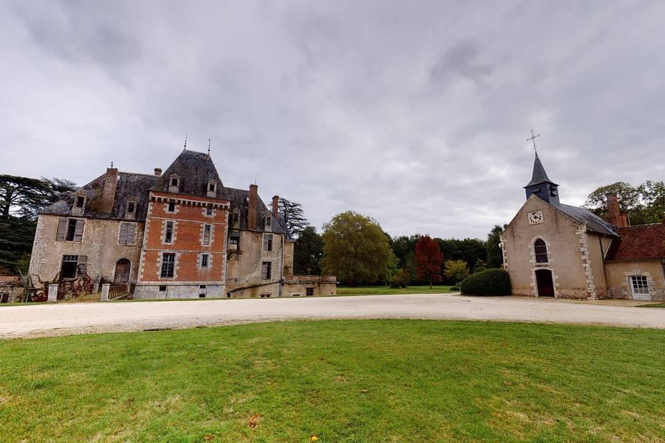 Château de Courcelles Le Roy 3d tour