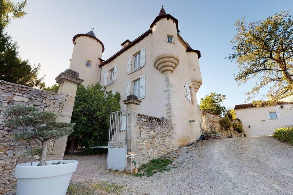 Château de la Romiguière 3d tour