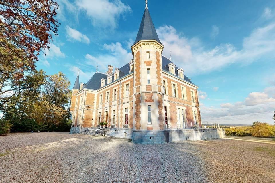 Château de la Plaudière 3d tour