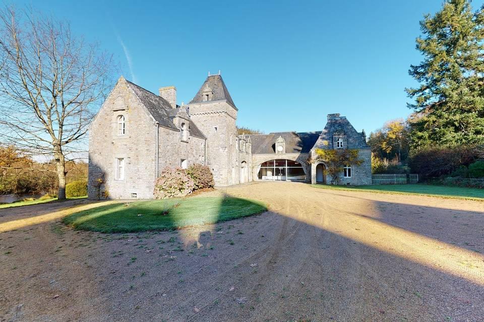 Château de la Bretonnière 3d tour