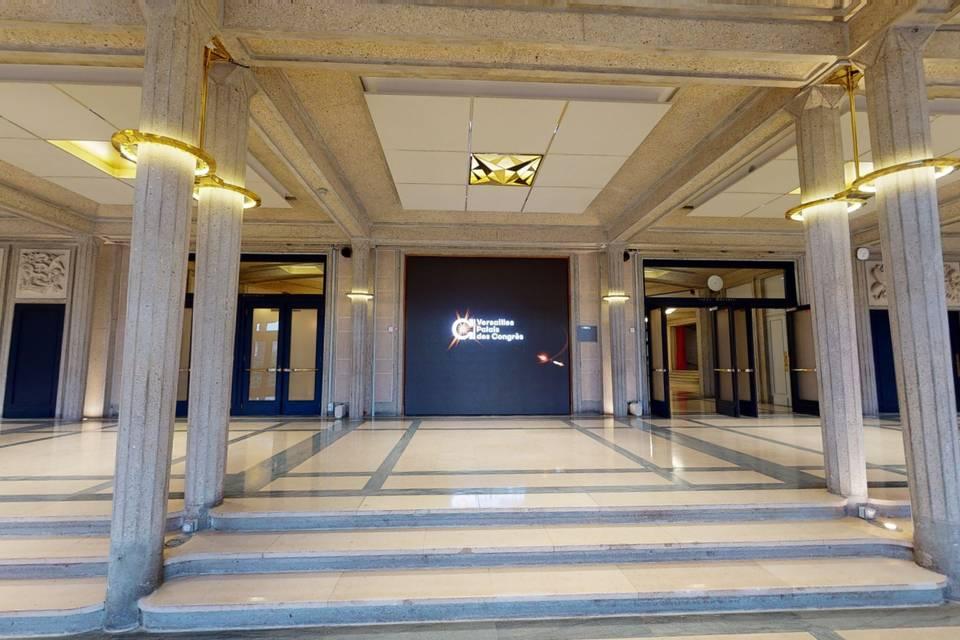 Versailles Palais des Congrès 3d tour