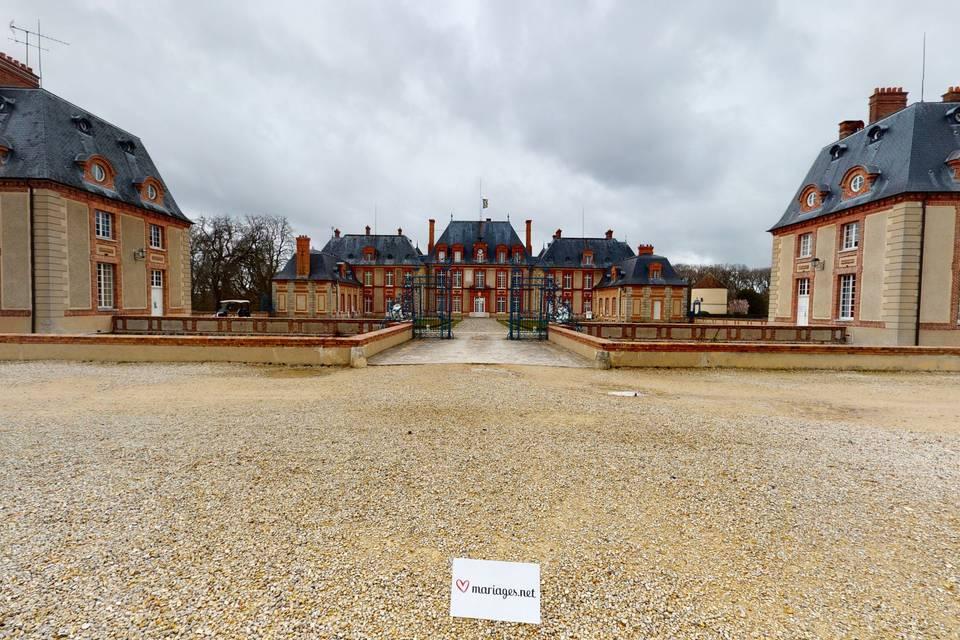 Château de Breteuil 3d tour