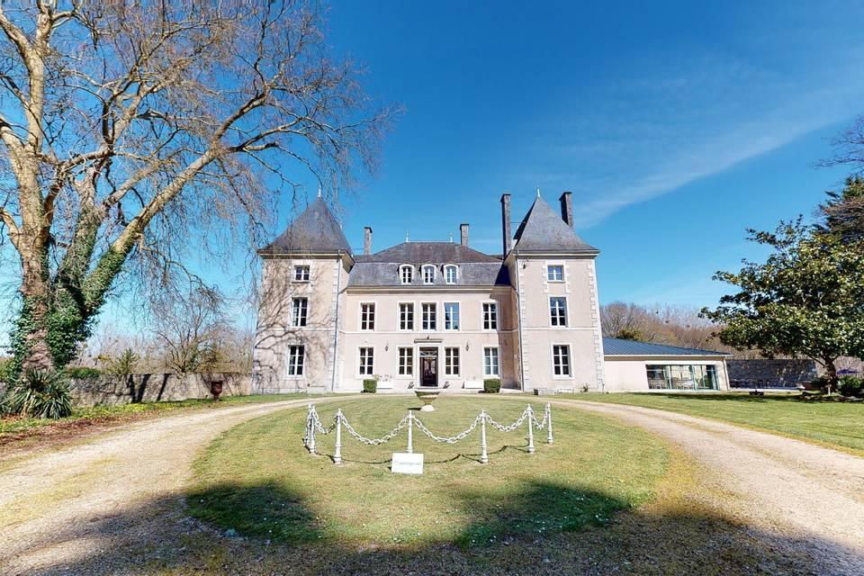 Le Château de la Borderie 3d tour