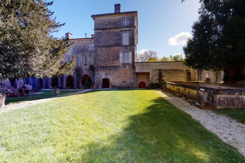 Abbaye de Fontdouce 3d tour