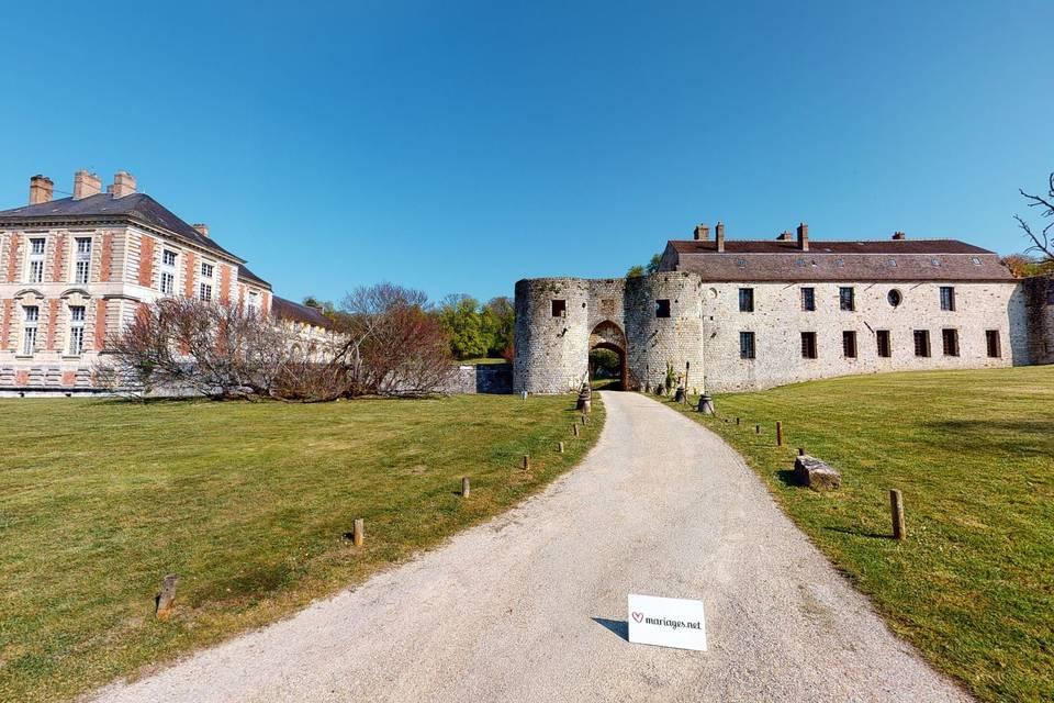 Château de Vallery 3d tour