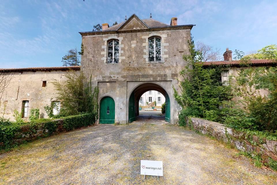 Château de la Tourlandry 3d tour