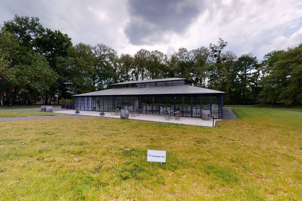Le Pavillon - Château de l'Oiselinière 3d tour