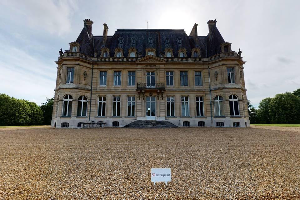 Château de Dangu 3d tour
