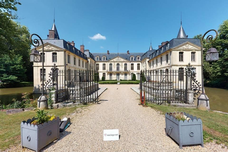 Domaine Château Ermenonville 3d tour