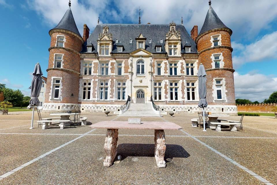 Château de Tilly et son Orangerie 3d tour