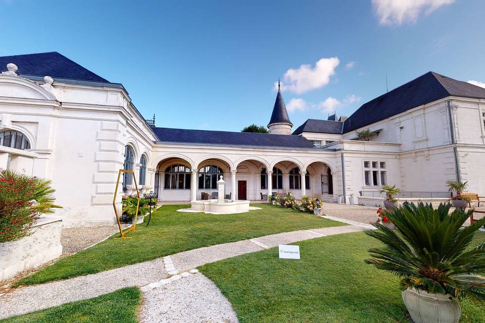 Château Pellisson 3d tour