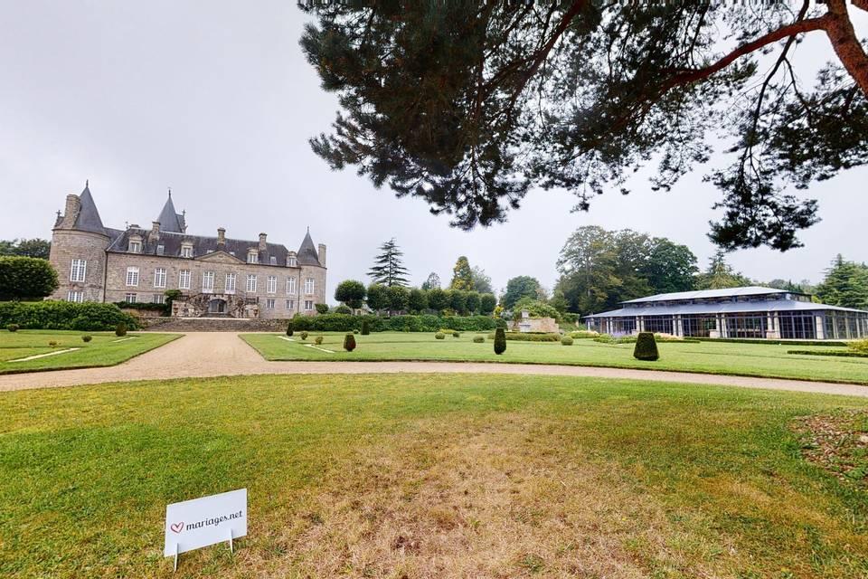 Château de Kergrist 3d tour
