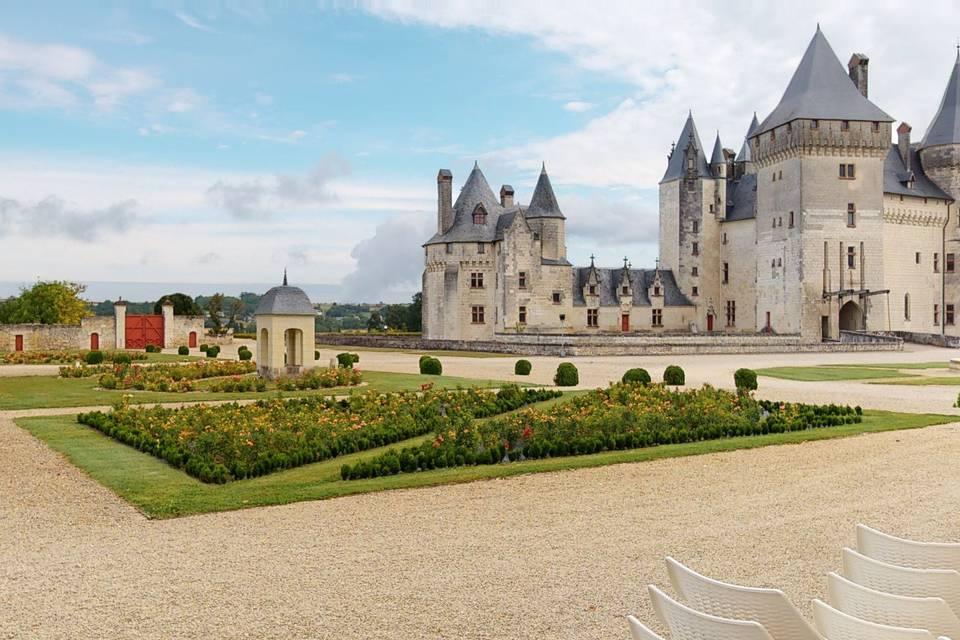 Château du Coudray Montpensier 3d tour