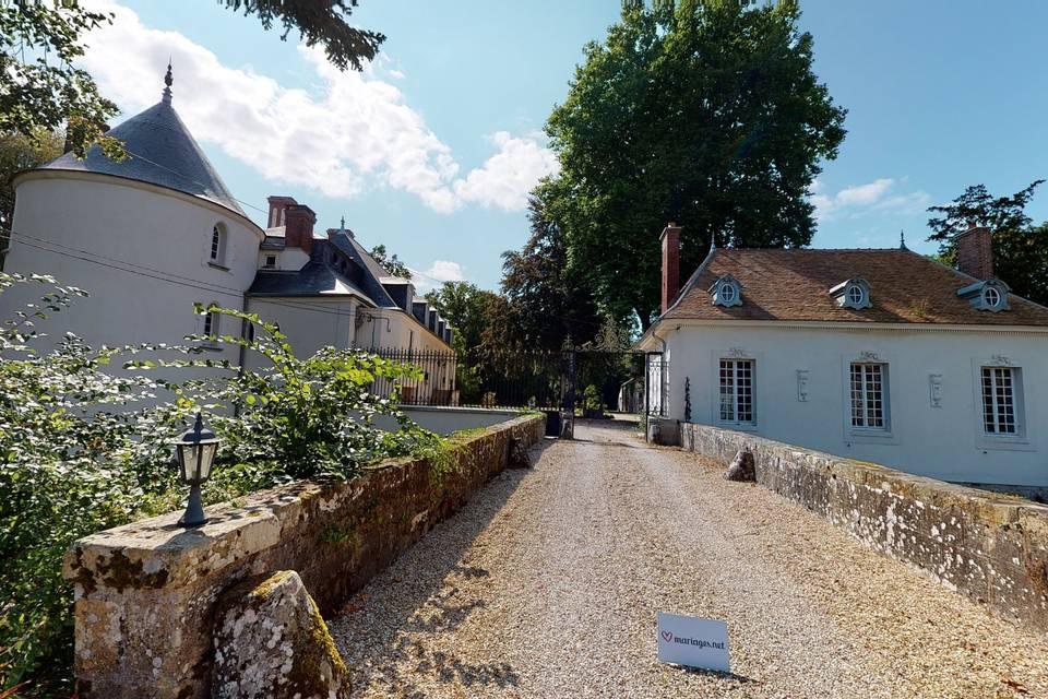 Château de Bourguignon 3d tour