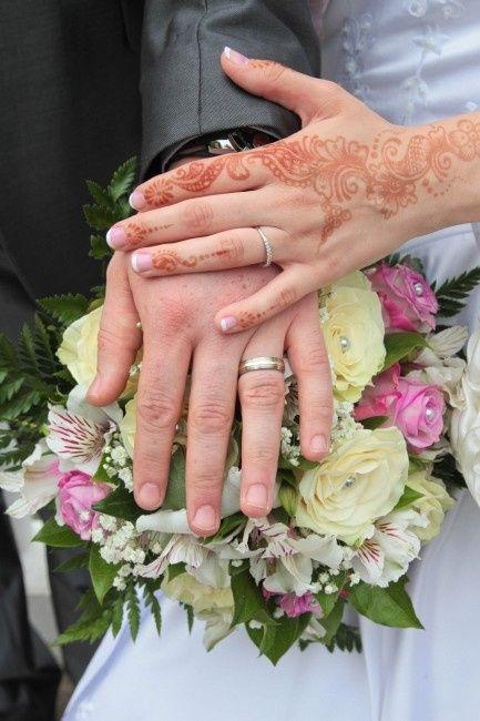 Photo de vos mains avec alliances 1