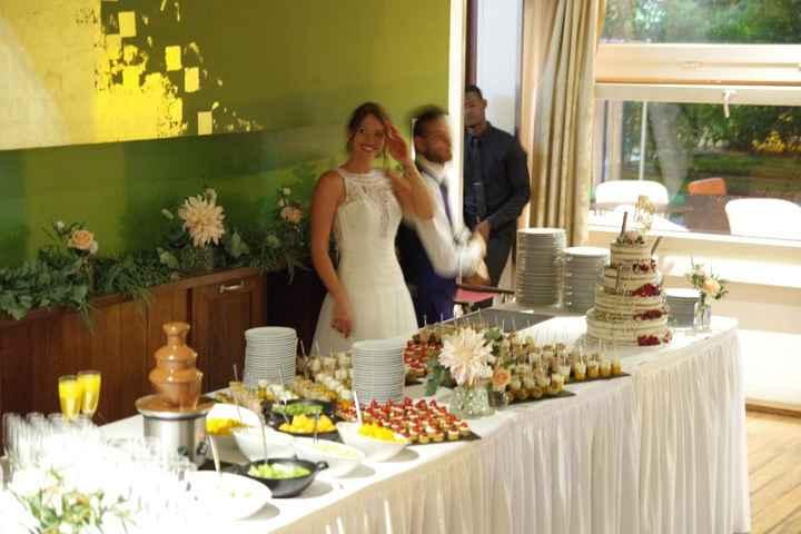 Naked cake (super bon) + desserts