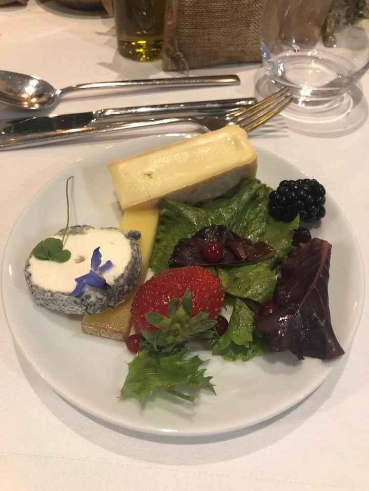 fromage à l'assiette