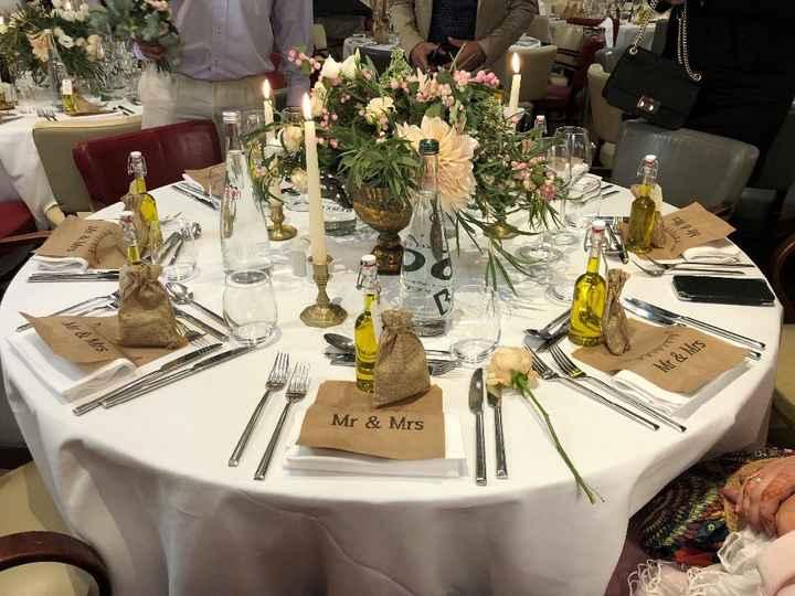 décoration de table invités